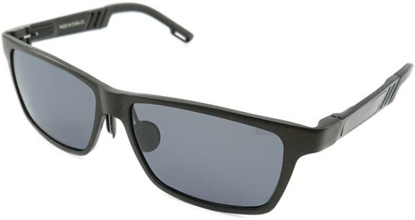 På billedet ser du variationen Endeavor, herre solbriller med etui fra brandet Veithdia i en størrelse H: 4,4 cm. B: 6,3 cm. i farven Sort
