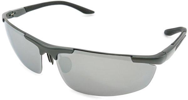 På billedet ser du variationen Force, herre solbriller med etui fra brandet Veithdia i en størrelse H: 4 cm. B: 7 cm. i farven Silver