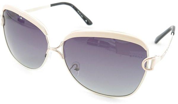 På billedet ser du variationen Mystic, dame solbriller med etui fra brandet Barcur i en størrelse H: 5,1 cm. B: 6,2 cm. i farven Hvid