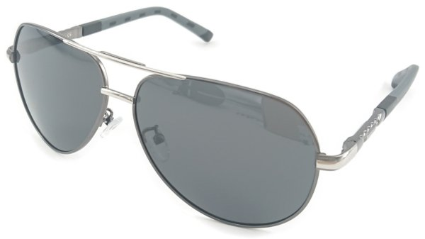 På billedet ser du variationen Outlook, herre solbriller med etui fra brandet Barcur i en størrelse H: 5,2 cm. B: 6,5 cm. i farven Sort