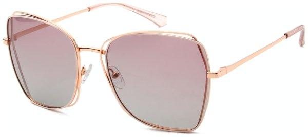På billedet ser du variationen Irregulær solbriller til kvinder, Queen fra brandet Solbrillerne.dk i en størrelse H: 60 cm. B: 19 cm. L: 144 cm. i farven Pink