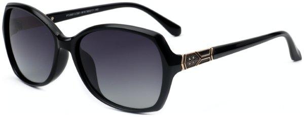 På billedet ser du et stemningsbillede (#1) fra Sommerfugl solbriller til kvinder, Entice fra brandet Solbrillerne.dk i en størrelse H: 58 cm. B: 17 cm. L: 140 cm. i farven Sort
