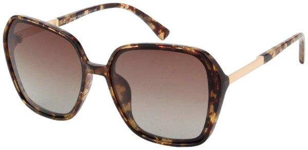 På billedet ser du variationen Sommerfugl solbriller til kvinder, Luxury fra brandet Solbrillerne.dk i en størrelse H: 62 cm. B: 17 cm. L: 145 cm. i farven Havana/Rosa