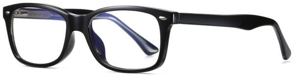 På billedet ser du et stemningsbillede (#7) fra Regulær bluelight briller til kvinder, Enjoy fra brandet Solbrillerne.dk i en størrelse H: 53 cm. B: 18 cm. L: 145 cm. i farven Sort