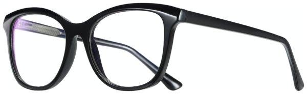 På billedet ser du et stemningsbillede (#9) fra Sommerfugl bluelight briller til kvinder, Eco fra brandet Solbrillerne.dk i en størrelse H: 52 cm. B: 18 cm. L: 145 cm. i farven Sort