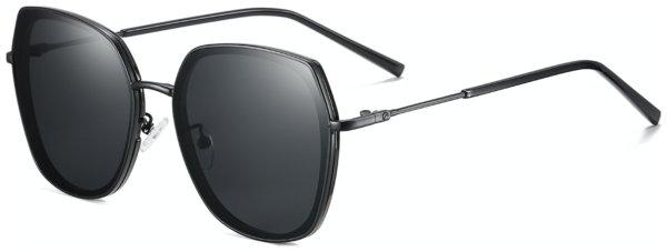 På billedet ser du et stemningsbillede (#2) fra Sommerfugl solbriller til kvinder, A-Line fra brandet Solbrillerne.dk i en størrelse H: 62 cm. B: 17 cm. L: 140 cm. i farven Sort