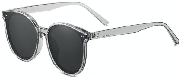På billedet ser du et stemningsbillede (#1) fra Sommerfugl solbriller til kvinder, Class fra brandet Solbrillerne.dk i en størrelse H: 64 cm. B: 17 cm. L: 144 cm. i farven Grå