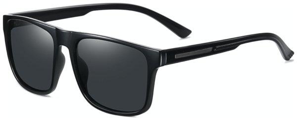 På billedet ser du et stemningsbillede (#7) fra Regulær solbriller til mænd, Cave fra brandet Solbrillerne.dk i en størrelse H: 56 cm. B: 17 cm. L: 140 cm. i farven Sort