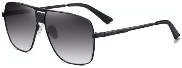 På billedet ser du et stemningsbillede (#7) fra Pilot solbriller til mænd, Apex fra brandet Solbrillerne.dk i en størrelse H: 64 cm. B: 11 cm. L: 145 cm. i farven Sort