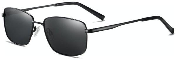 På billedet ser du et stemningsbillede (#7) fra Regulær solbriller til mænd, Claw fra brandet Solbrillerne.dk i en størrelse H: 57 cm. B: 16 cm. L: 145 cm. i farven Sort