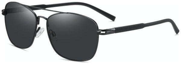 På billedet ser du et stemningsbillede (#7) fra Regulær solbriller til mænd, Classics fra brandet Solbrillerne.dk i en størrelse H: 59 cm. B: 16 cm. L: 140 cm. i farven Sort
