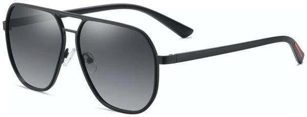 På billedet ser du et stemningsbillede (#6) fra Pilot solbriller til mænd, Dapper fra brandet Solbrillerne.dk i en størrelse H: 60 cm. B: 13 cm. L: 140 cm. i farven Sort