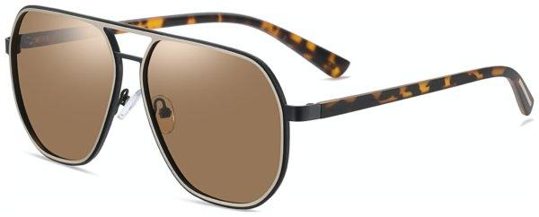 På billedet ser du variationen fra brandet Solbrillerne.dk i en størrelse H: 60 cm. B: 13 cm. L: 140 cm. i farven Havana