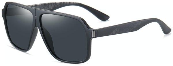 På billedet ser du et stemningsbillede (#8) fra Pilot solbriller til mænd, Mantle fra brandet Solbrillerne.dk i en størrelse H: 61 cm. B: 9 cm. L: 145 cm. i farven Sort